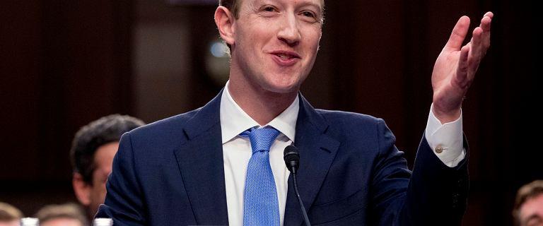 Rekordowa kara dla Facebooka. 5 mld dolarów. Dla Zuckerberga to drobne