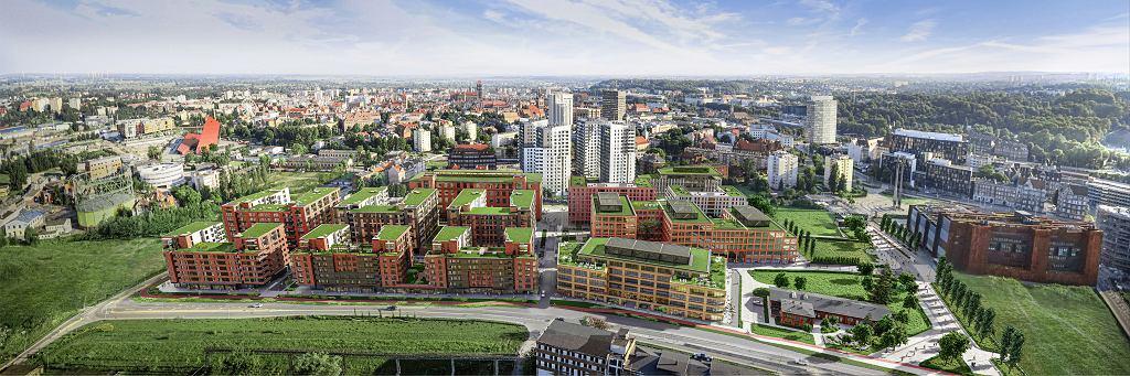 Tak ma wyglądać osiedle Doki w Gdańsku