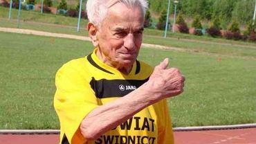 Stanisław Kowalski - rekordzista Europy na 100 metrów w kategorii stulatków