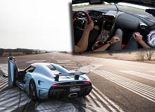 Koenigsegg Regera ma kosmiczny hipernapęd. Ten samochód nie wciska w fotel, on zakrzywia czasoprzestrzeń [WIDEO]