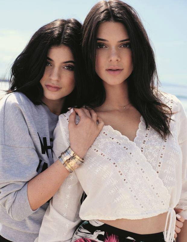 Kendall Jenner i Kylie Jenner x Topshop