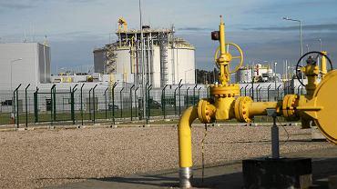 Terminal gazowy LNG im. Prezydenta Lecha Kaczyńskiego w Świnoujściu.