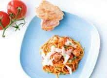 Spaghetti z pulpecikami cielęcymi i sosem z duszonych pomidorów - ugotuj