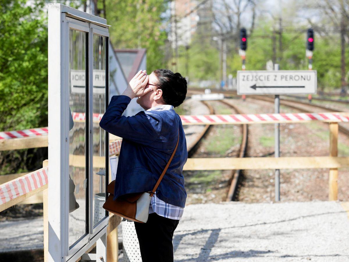 Tymczasowy Przystanek Krakow Olsza Spacerem Zamiast Pociagiem