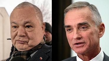 Prezes NBP Adam Glapiński i senator PiS Jan Maria Jackowski