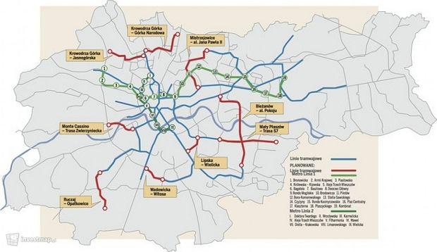 Koncepcja systemu komunikacyjnego Krakowa