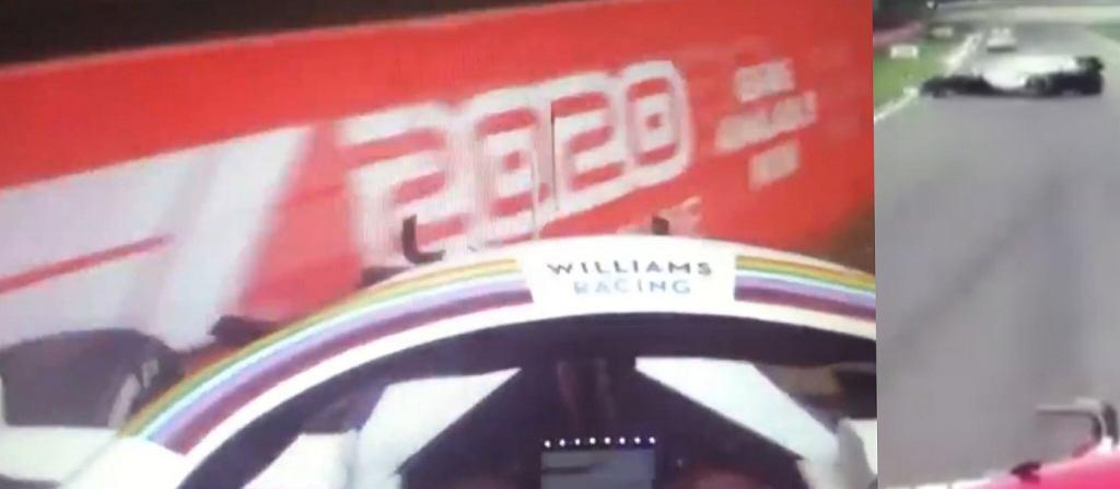 George Russell w kuriozalny sposób rozbił bolid podczas GP Emilii Romanii
