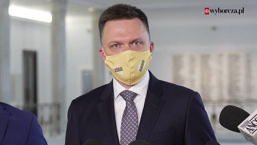 Szymon Hołownia, lider Polska 2050