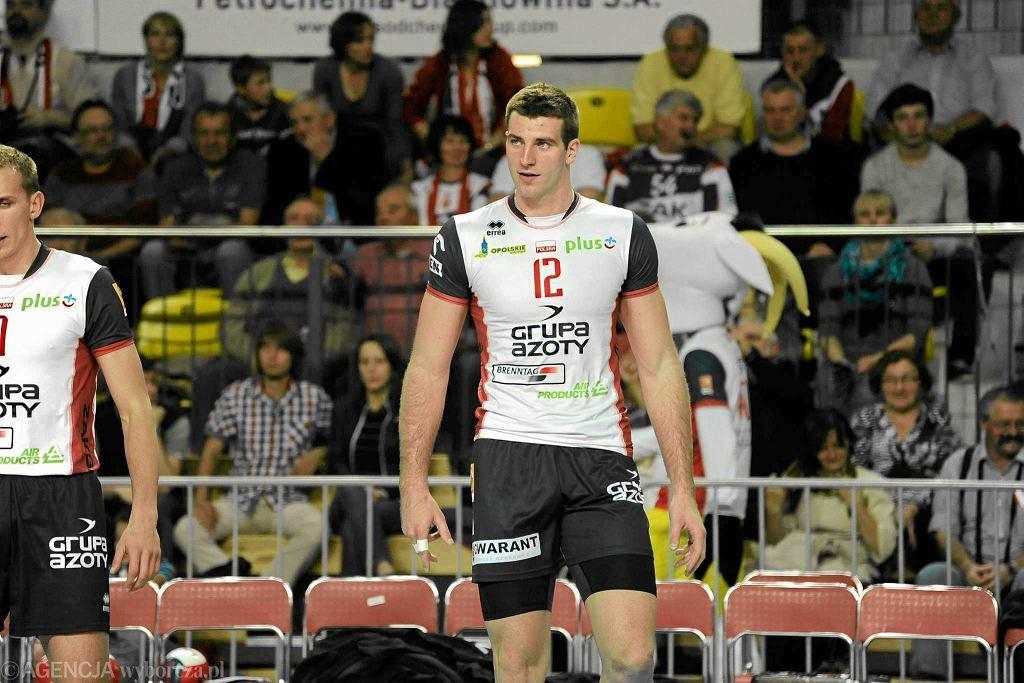 Grzegorz Bociek w barwach Zaksa Kędzierzyn Koźle, rok 2013