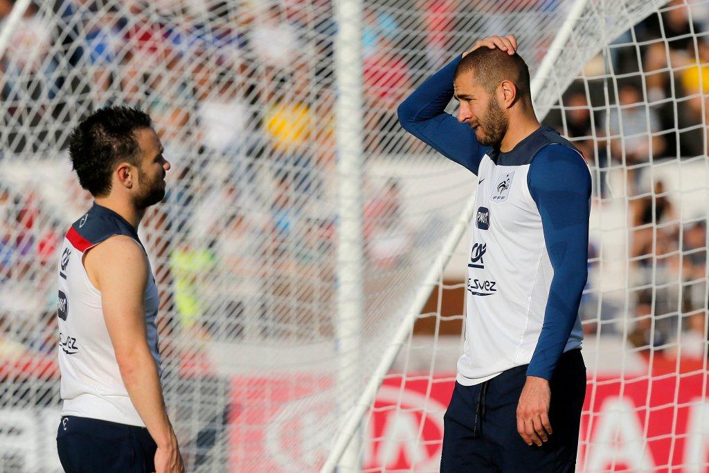 Karim Benzema i Mathieu Valbuena