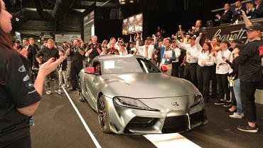 Toyota GR Supra - pierwszy egzemplarz