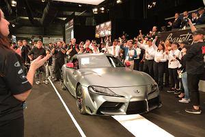 Pierwsza Toyota GR Supra sprzedana za 8 mln zł