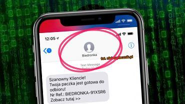 Fałszywa promocja Biedronki lub Lidla
