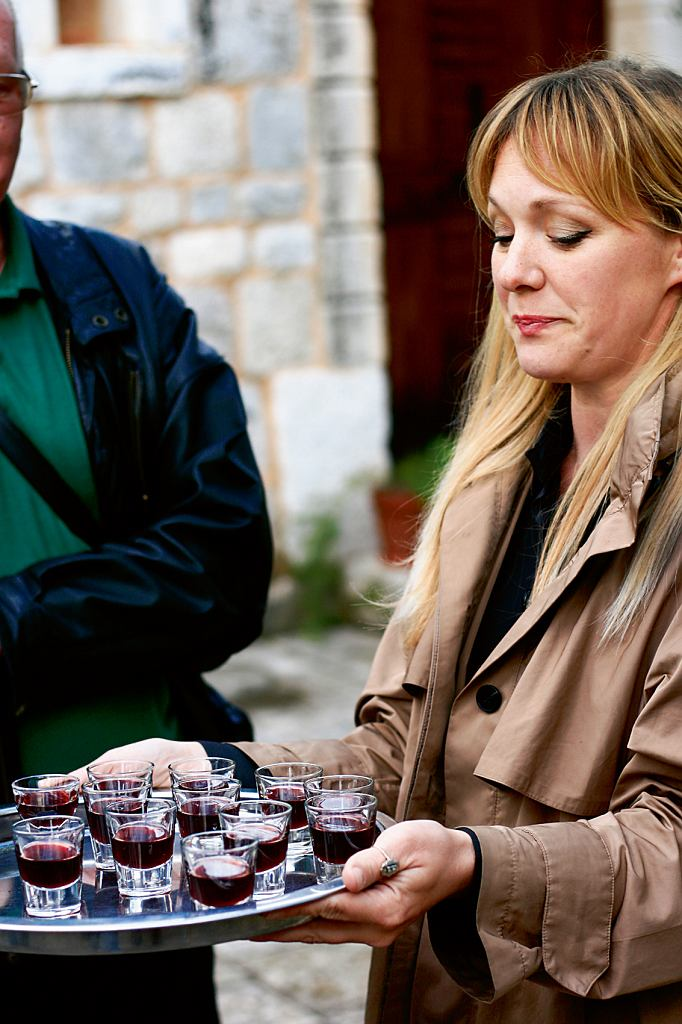 Melita Dabelić wita gości wStella Croatica
