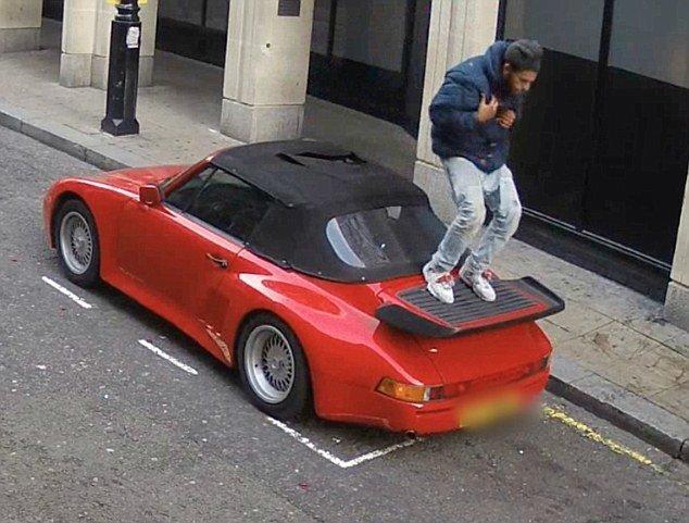 Nieudana próba kradzieży Porsche 911