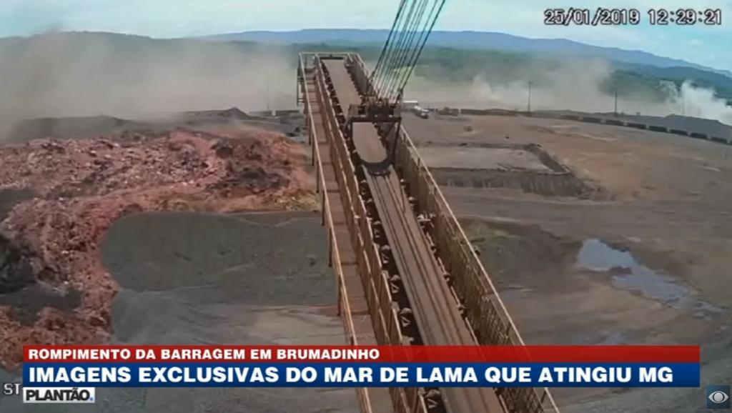 Przerwanie tamy w Brazylii