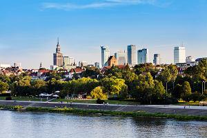 Trasy i ścieżki rowerowe w Warszawie i nad Wisłą