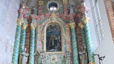 Odnowione wnętrze kościoła ojców franciszkanów w Kaliszu
