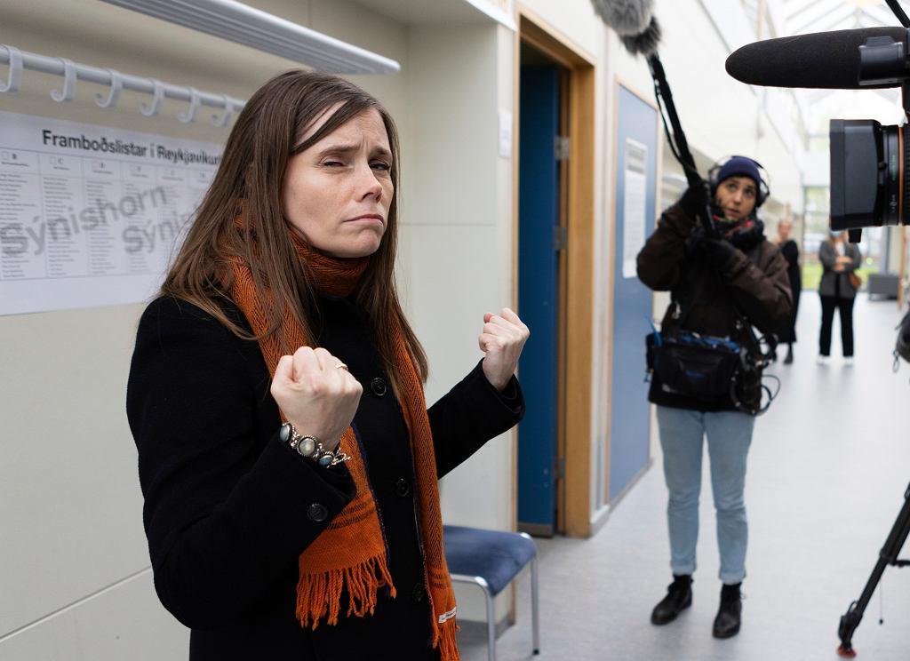 Katrin Jakobsdottir - premierka Islandii