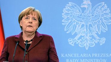 07.02.2017 Warszawa, KPRM. Kanclerz Niemiec Angela Merkel z wizytą w Polsce