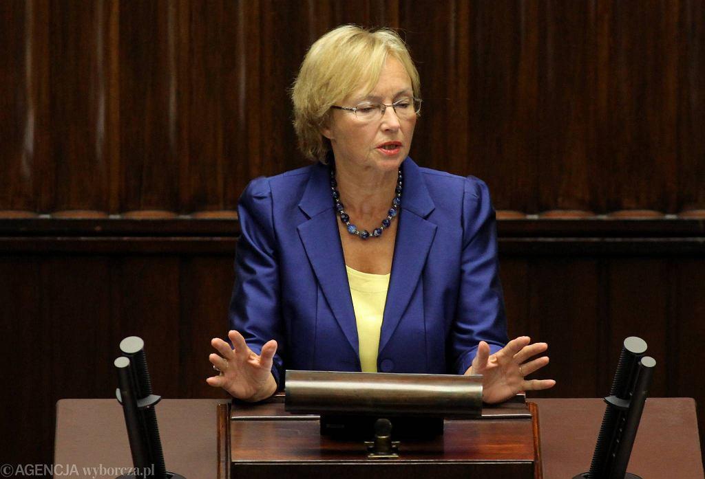 Minister nauki Lena Kolarska-Bobińska