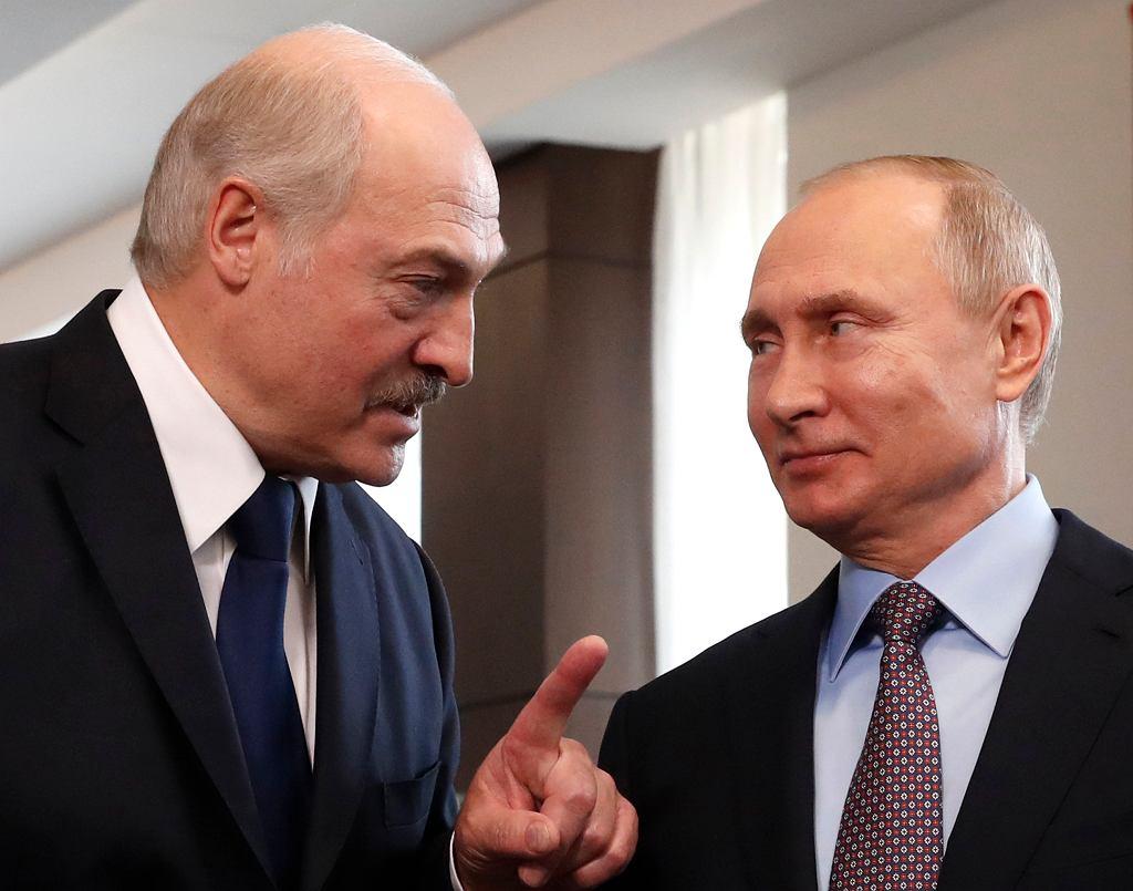 Aleksander Łukaszenko i Władimir Putin