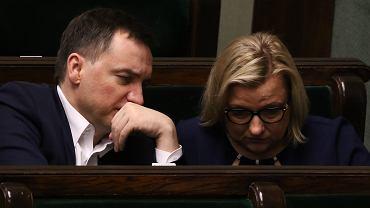 Zbigniew Ziobro i Beata Kempa