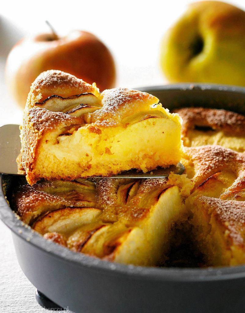Placek z jabłkami po szwajcarsku
