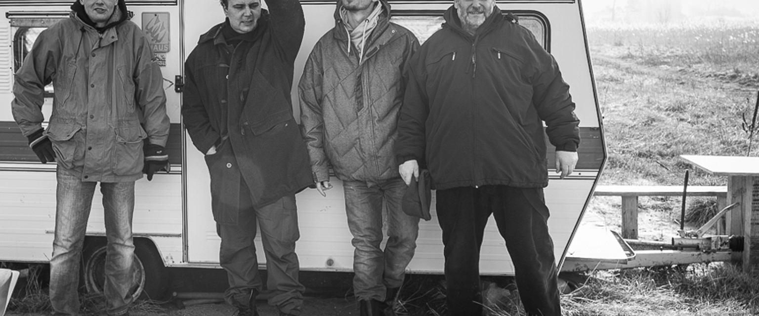 Paweł Suwała, Aleksander Baron, Julian Karewicz i Dariusz Wolszczak  (fot. Igor Haloszka)