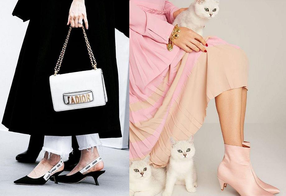 Kitten heels - obcas