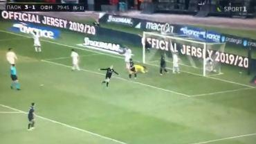 Karol Świderski strzelił kolejnego gola dla PAOK-u