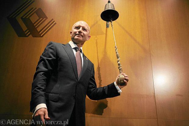 Prezes PZU Andrzej Klesyk podał się do dymisji na prośbę ministra skarbu