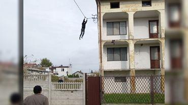 Ucieczka po kablu