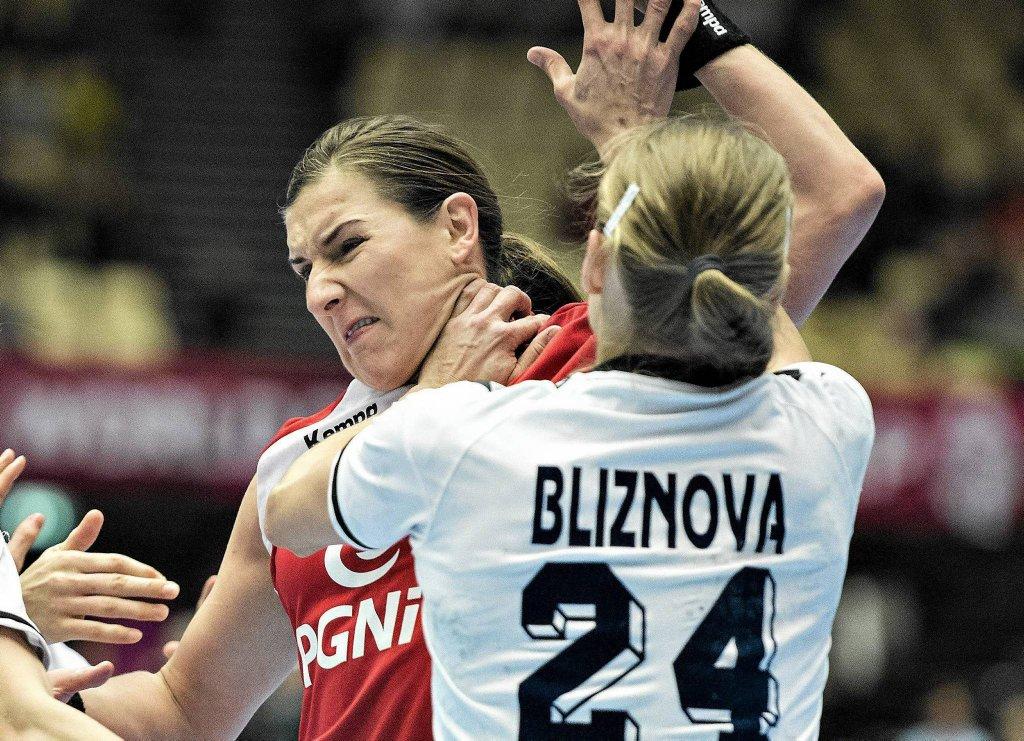 Polska - Rosja 21:20. Karolina Kudłacz-Gloc