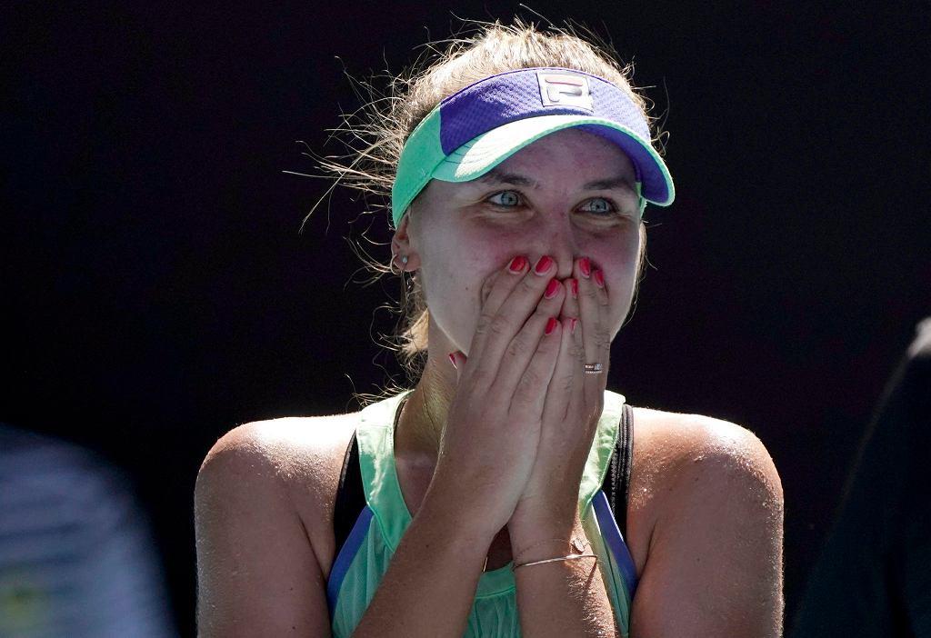 Australian Open 2020. Sofia Kenin po awansie do finału