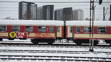 Atak zimy na kolei. Wrocław, 14.01.2021