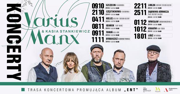 Trasa koncertowa 2018  