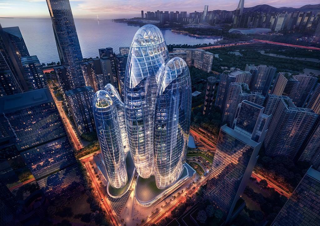 Wieżowiec OPPO w Shenzhen
