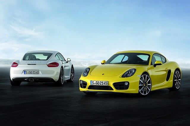 Porsche Cayman i Porsche Cayman S