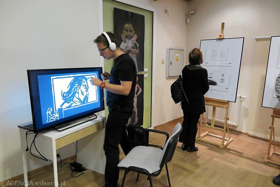 Zdjęcie numer 13 w galerii - Studenci z polsko-japońskiej szkoły zainspirowani Themersonem i Witkacym [FOTO]
