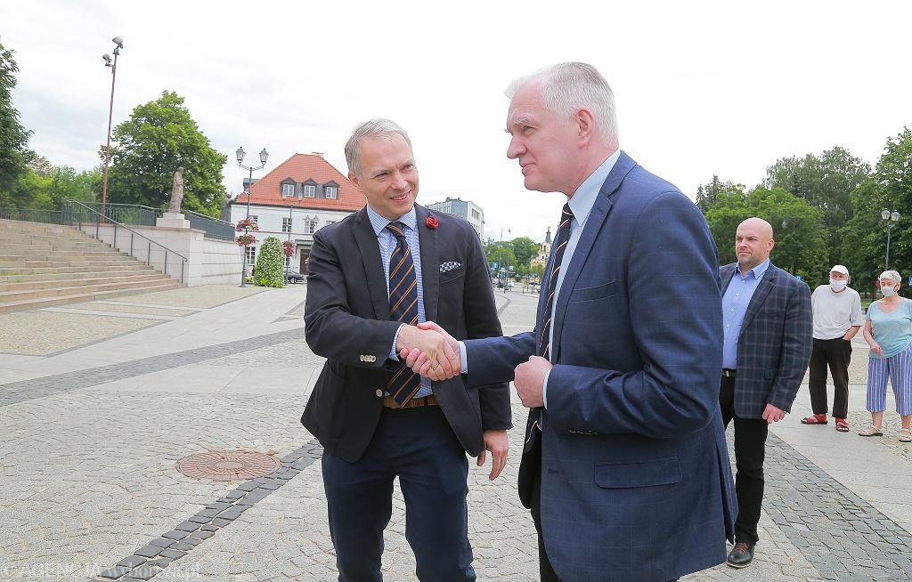 Jacek Żalek i Jarosław Gowin