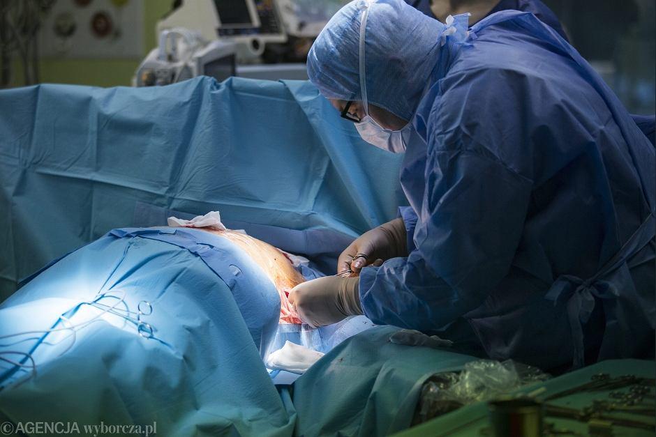 Operacja kardiologiczna - zdjęcie ilustracyjne
