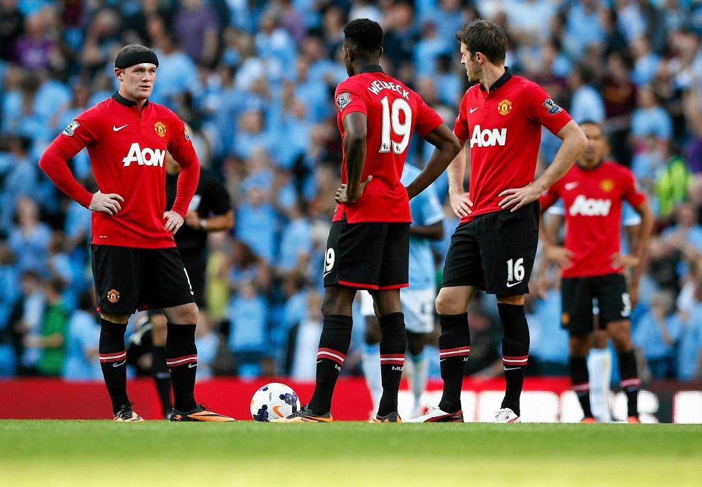 Wayne Rooney, Danny Wellbeck i Michael Carrick