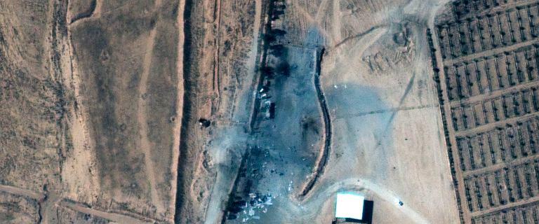 Syria. Operacja na rozkaz Bidena. Na zdjęciach widać ślady eksplozji