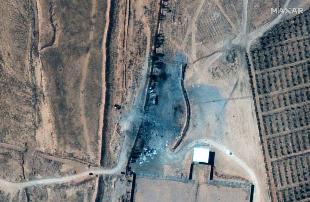 Zdjęcia zniszczonej bazy po amerykańskim nalocie