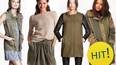 Modne kolory na jesień i zimę 2013/14 - khaki