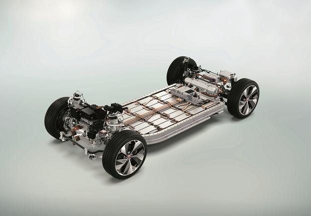 Podwozie Jaguara I-Pace