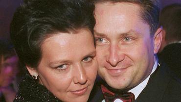 Kamil Durczok z żoną