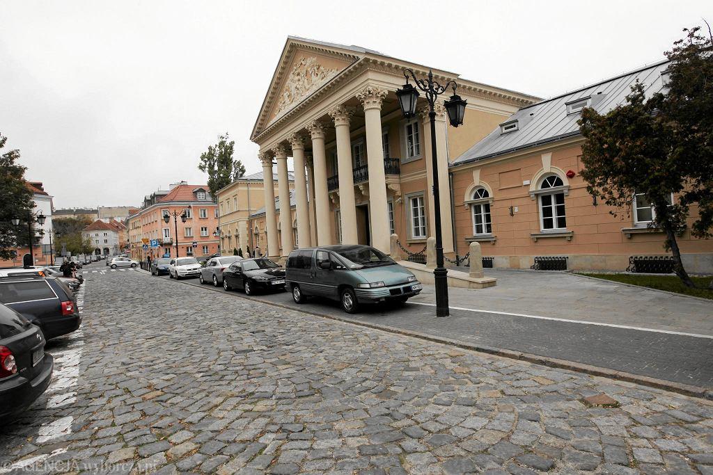 Wydział Dziennikarstwa UW przy ul. Bednarskiej