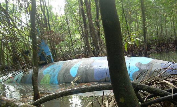 Jedna z najbardziej zaawansowanych 'narcosubs', przejęta na terenie Ekwadoru w 2011 roku. Mogła zanurzać się całkowicie na niewielką głębokość